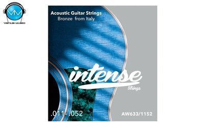 Encordadura Intense Strings Acoustic Guitar Bronze AW633