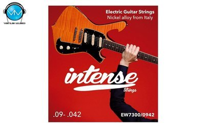 Encordadura Intense Strings Electric Guitar Nickel EW7300