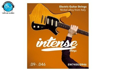 Encordadura Intense Strings Electric Guitar Nickel EW7400