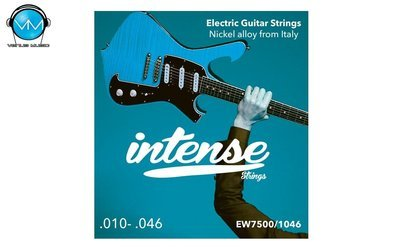 Encordadura Intense Strings Electric Guitar Nickel EW7500