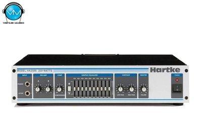 Amplificador Hartke HA2500 Estereo 250W 4 Omhs 180W 8S
