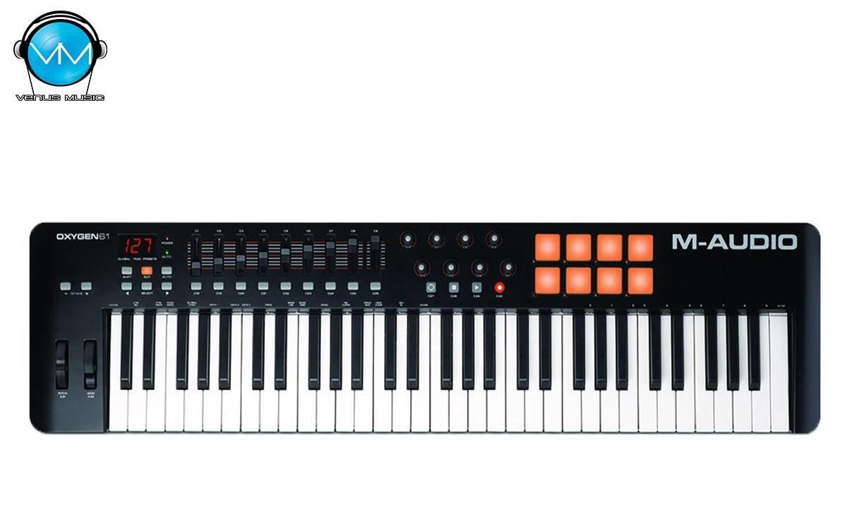 Controlador M-Audio 61 Teclas Oxygen 61 IV