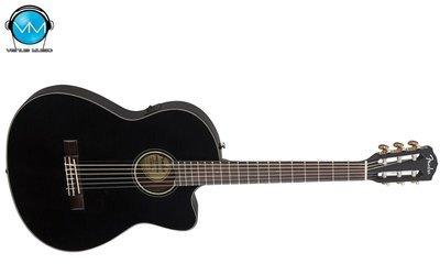 Guitarra Fender Electroacústica CN140SCEBK THINLINE