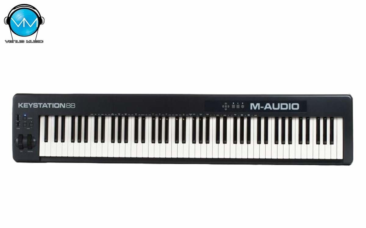 Controlador M-Audio Midi USB 88 Teclas Keystation 88II