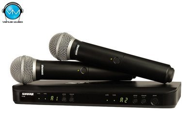 Sist. Inalámbrico Vocal Doble Shure BLX288/PG58
