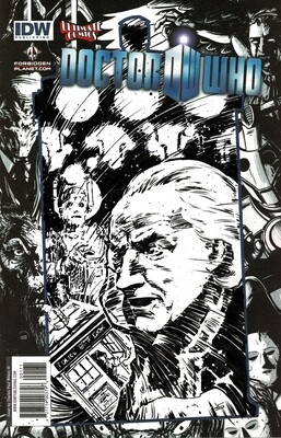 Doctor Who - The First Doctor - sketch cover
