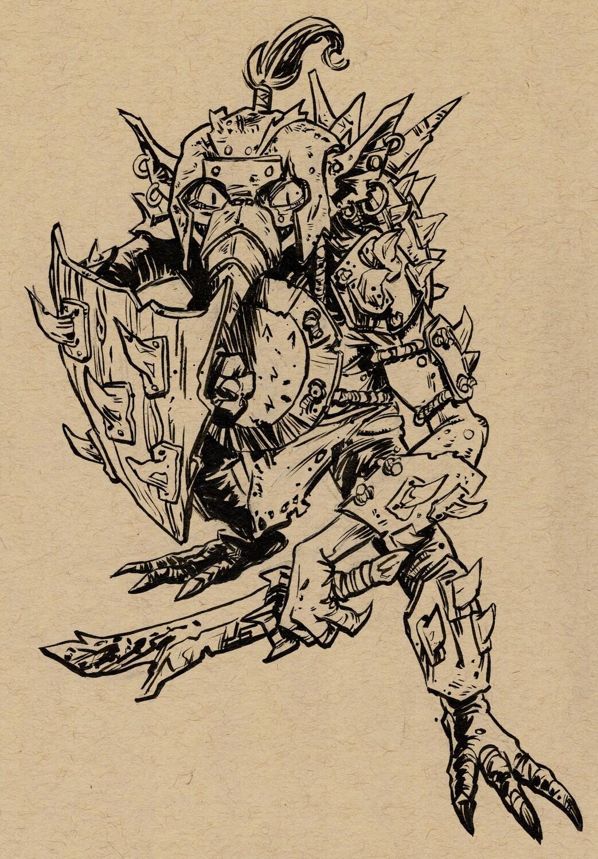 Drawlloween 2020 - 16 - Goblin