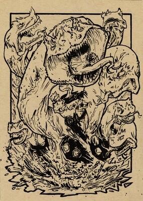 Drawlloween 2020 - 29 - Hydra