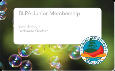Junior Membership - adhésion junior