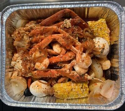 Big Mama's Seafood Sampler