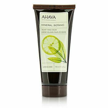 Mineral Botanic Velvet Hand Cream - Lemon & Sage  100ml/3.4oz