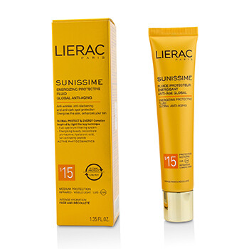 Sunissime Global Anti-Aging Energizing Protective Fluid SPF15 For Face & Decollete  40ml/1.35oz