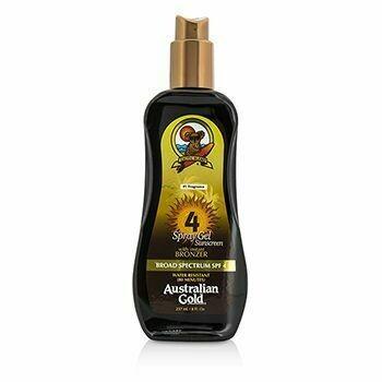 Spray Gel Sunscreen Broad Spectrum SPF 4 with Instant Bronzer  237ml/8oz