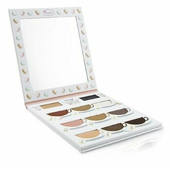 What's The Tea? Hot Tea Eyeshadow Palette (Warm Shades With Eyelid Primer)  -