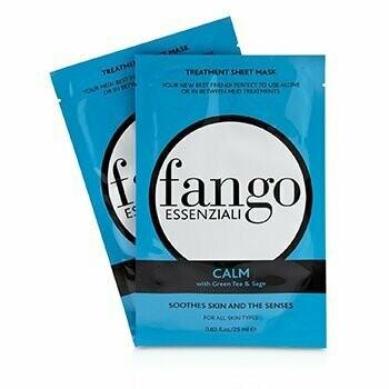 Fango Essenziali Calm Treatment Sheet Masks  4x25ml/0.83oz