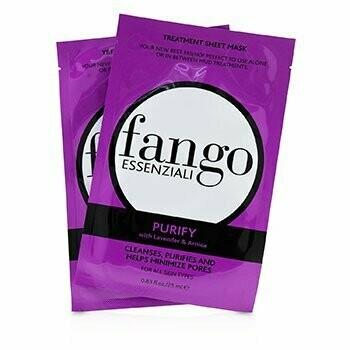 Fango Essenziali Purify Treatment Sheet Masks  4x25ml/0.83oz