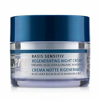 Basis Sensitiv Regenerating Night Cream - Organic Aloe Vera & Organic Almond Oil (For All Skin Types)  50ml/1.6oz