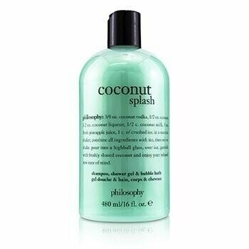 Coconut Splash Shampoo, Shower Gel & Bubble Bath  480ml/16oz