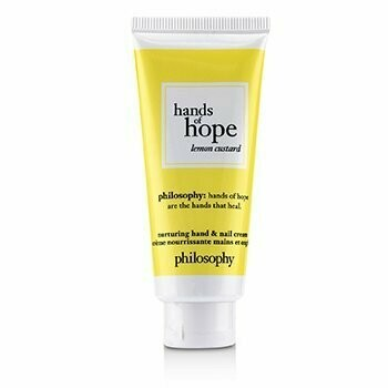 Hands of Hope Nurturing Hand & Nail Cream - Lemon Custard  30ml/1oz