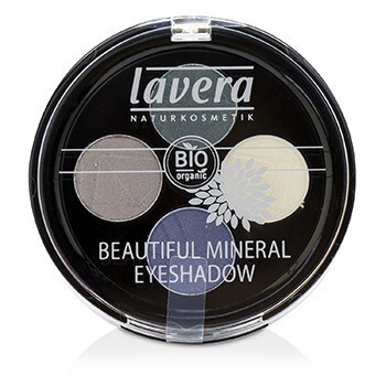 Beautiful Mineral Eyeshadow Quattro - # 08 Edgy Tones  4x0.8g/0.026oz