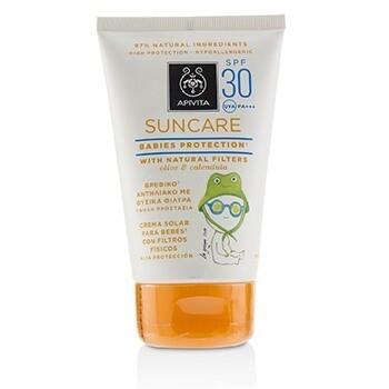 Suncare Babies Protection SPF 30 With Natural Olive & Calendula  100ml/3.4oz