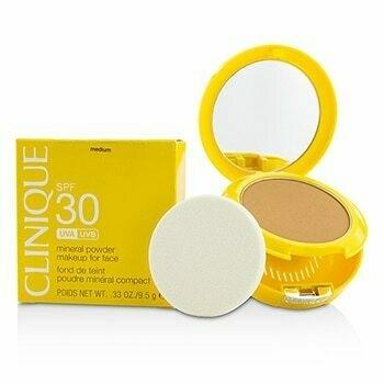 Sun SPF 30 Mineral Powder Makeup For Face - Medium  9.5g/0.33oz
