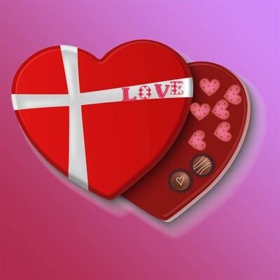 Valentine 3D Heart Box