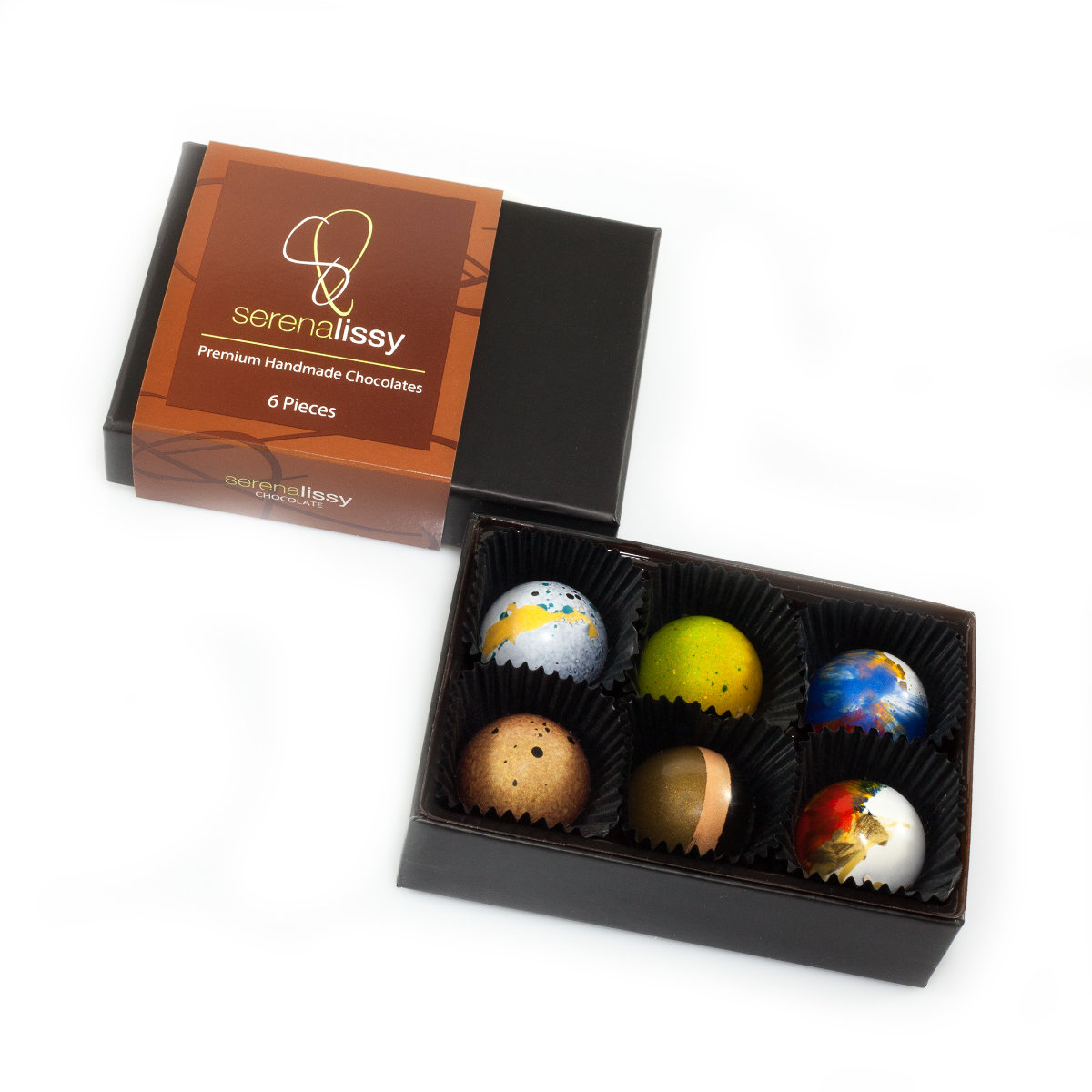 6 Piece Assorted Chocolates