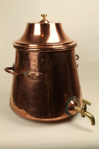 Large Vessel with Tap