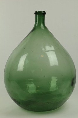 Large Green Wine Bottle