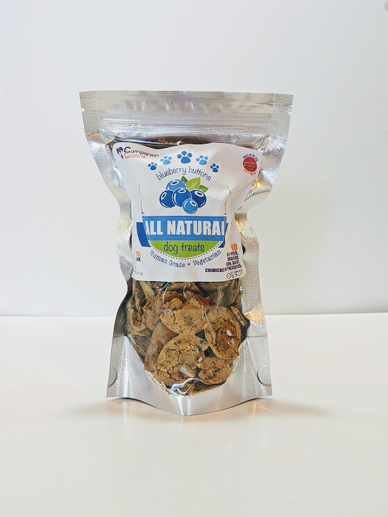 Blueberry Buttons  (Grain free)