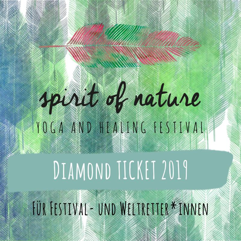 Spirit of Nature Festival 2019 <<< DIAMOND TICKET >>>