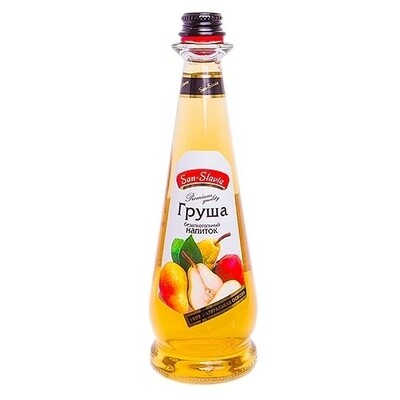 лимонад san-slavia натуральные груша