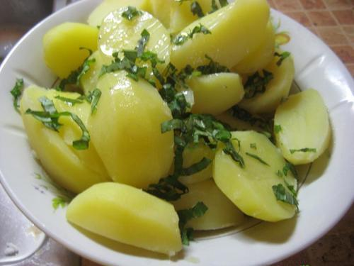 Отварной картофель (150 гр)