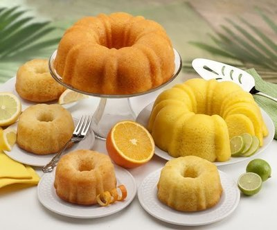 GOURMET GIFTS - CITRUS LOVERS CAKE ASSORTMENT