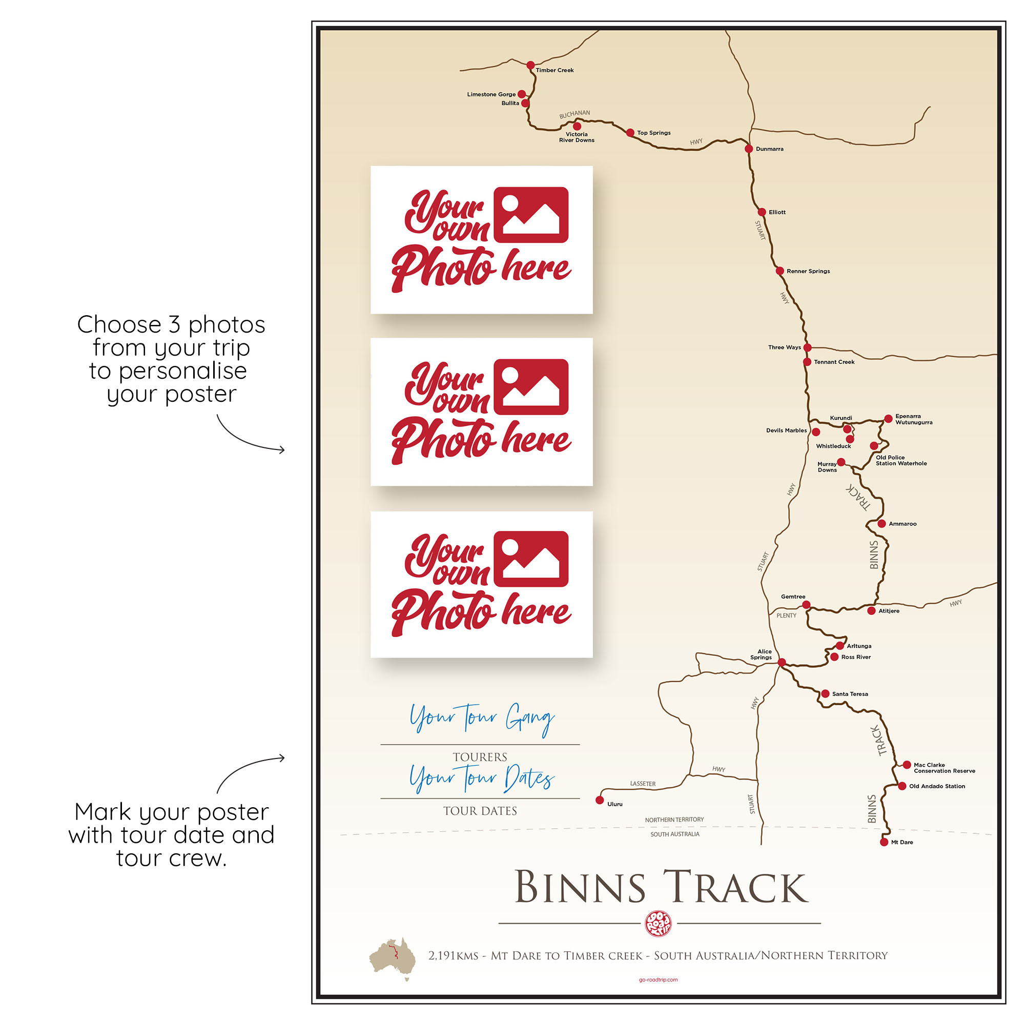 ICONIC TRACK: Binns Track Personal Poster