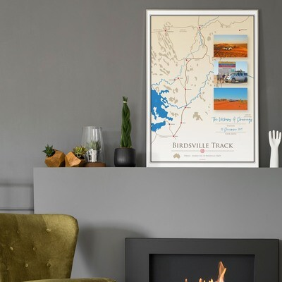 ICONIC TRACK: Birdsville Track Personal Poster 00011