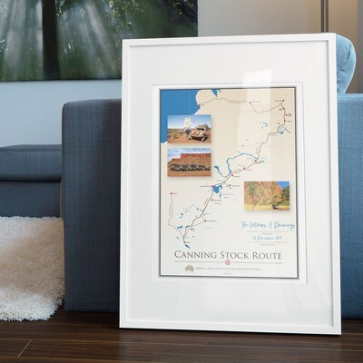 ICONIC TRACK: Canning Stock Route Personal Poster 00012