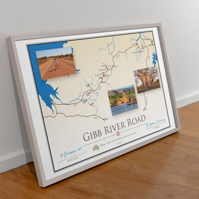 ICONIC TRACK: Gibb River Road Personal Poster 00013