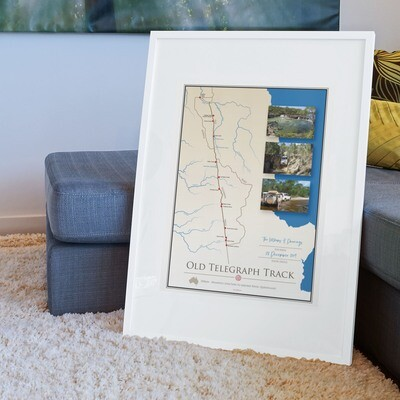 ICONIC TRACK: Old Telegraph Track Personal Poster 00015