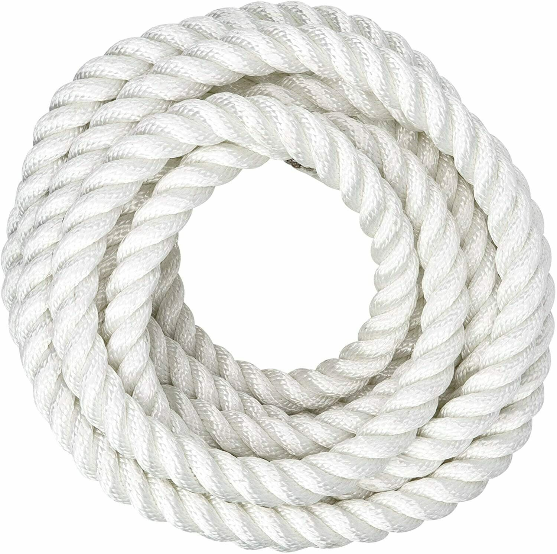 Mooring & Anchoring Rope (3 Strand Nylon) - Per Metre