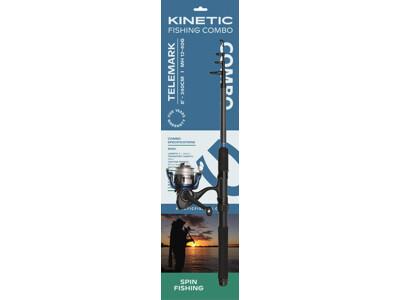 Kinetic Telemark 8' Telescopic Combo Kit 12-40g.