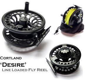 Cortland Desire Fly Reel Large Arbour 5/6