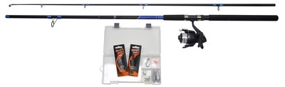 Shakespeare - Beta Catch More Fish Combo 9'' Sea Spin Kit 40-80G