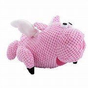 GoDog Flying Pig  'checkers' Pink  Small
