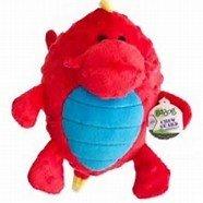 GoDog Dragon Grunter Red  Small