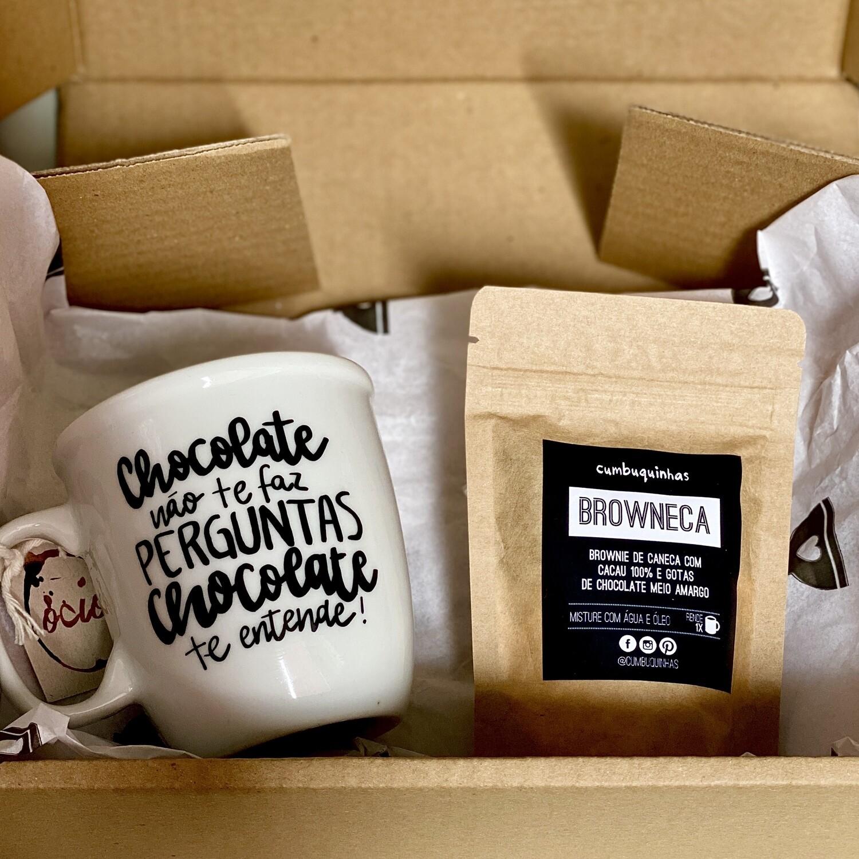 Kit BROWNECA (brownie de caneca)