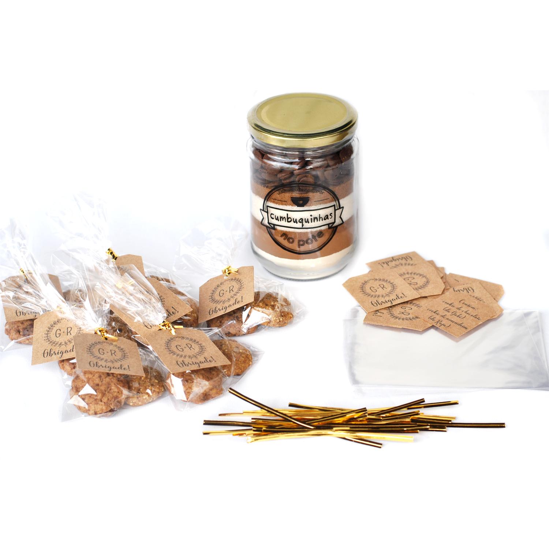 Kit Faça você mesmo - Cookies de lembrancinha