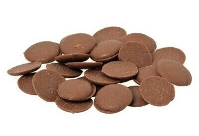 Belgian Milk Chocolate Callets - Chocolate Buttons Couverture 34% - 1kg