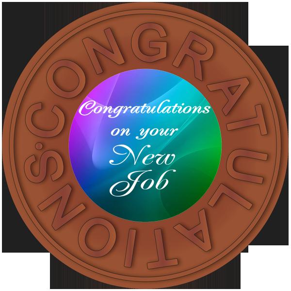 Congratulations New Job